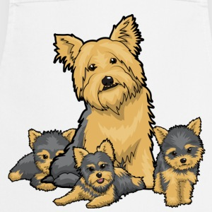 Yorkie & Puppies - Cooking Apron