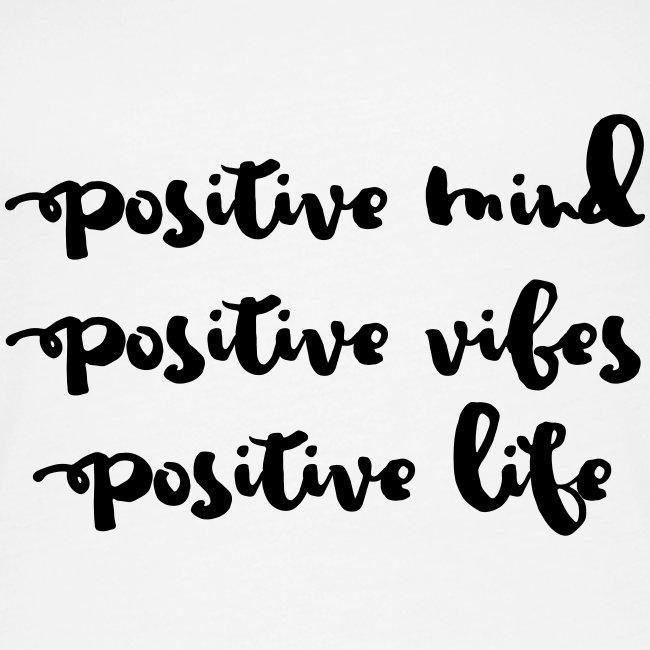 "Damen Premium Top ""Positive Mind"""