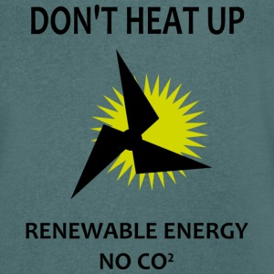 renewable energy T-Shirts - Men's V-Neck T-Shirt