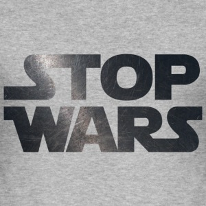 STOP WARS	 T-Shirts - Men's Slim Fit T-Shirt