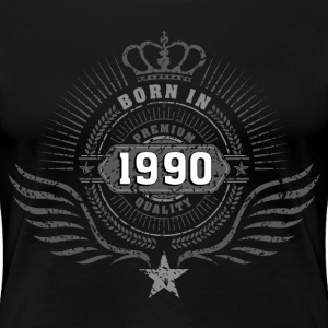 born_in_1990 T-Shirts - Frauen Premium T-Shirt