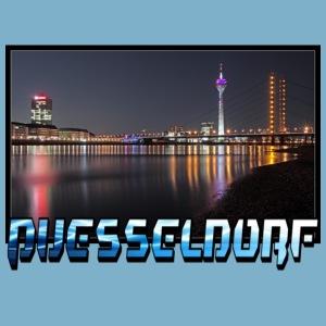 Düsseldorf Stadt Skyline