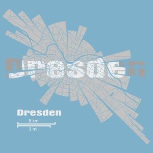 Dresden Karte