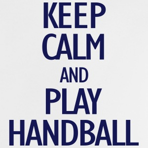 keep calm and play handball Babyskjorter - Baby-T-skjorte