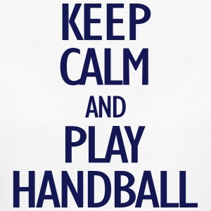 keep calm and play handball T-Shirts - Women's Organic T-shirt