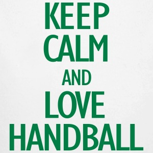keep calm and love handball Baby Bodysuits - Longlseeve Baby Bodysuit