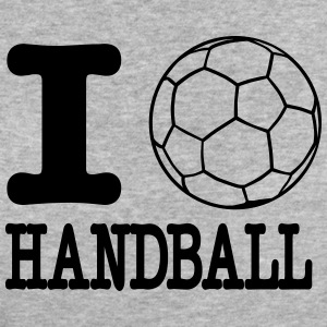 i love handball ball T-shirts - Vrouwen Bio-T-shirt