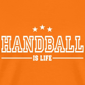 handball is life 2 T-Shirts - Men's Premium T-Shirt