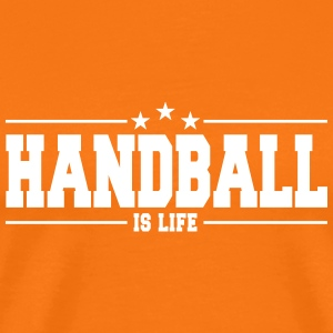 handball is life 1 T-skjorter - Premium T-skjorte for menn