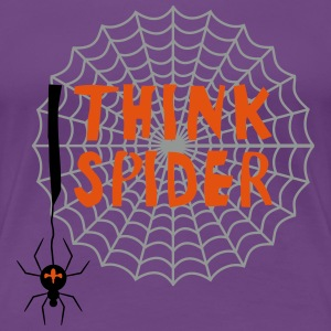 I think I spider T-Shirts - Frauen Premium T-Shirt