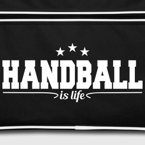 handball is life 4 Bags & Backpacks - Retro Bag