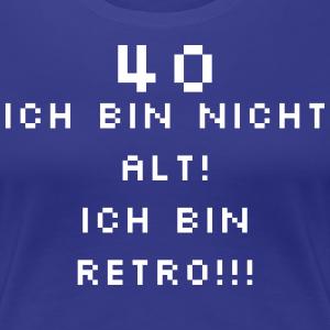 """Geburtstag T-Shirts mit """"Retro 40 Geburtstag"""""""