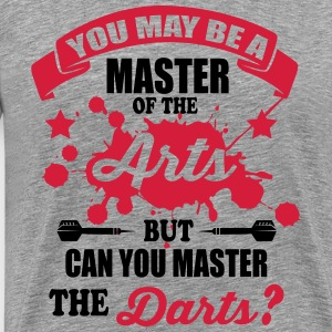 Can you master the darts T-Shirts - Men's Premium T-Shirt