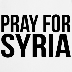 PRAY FOR SYRIA Forklæder - Forklæde