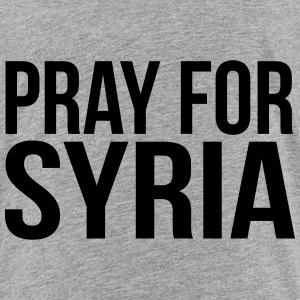 PRAY FOR SYRIA Shirts - Kinderen Premium T-shirt