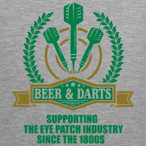 Beer and darts since 1800s Tank Tops - Männer Premium Tank Top