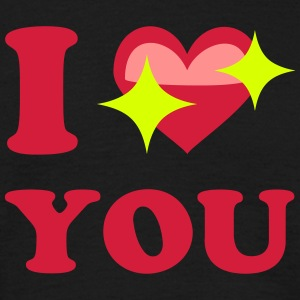I love you T-Shirts - Männer T-Shirt