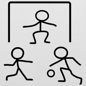 Stick Figure Handball Goal Bags & Backpacks - Tote Bag