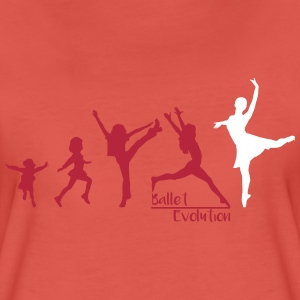 Ballet Evolution T-Shirts - Frauen Premium T-Shirt