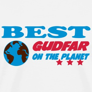 Best gudfar on the planet T-shirts - Herre premium T-shirt