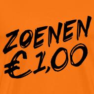 Ontwerp ~ Koningsdag T-shirt: Zoenen, 1 euro