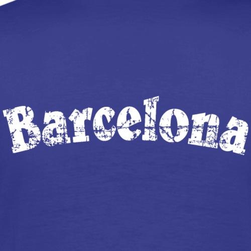 Barcelona Vintage White
