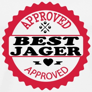 Approved best jager T-shirts - Premium-T-shirt herr