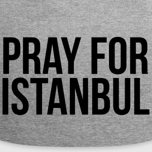 PRAY FOR ISTANBUL (PRAY FOR ISTANBUL) Caps & Hats - Jersey Beanie