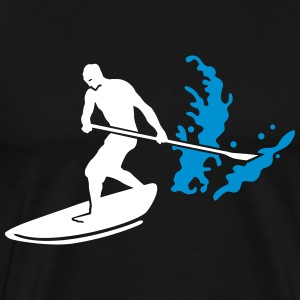 paddle board T-shirts - Mannen Premium T-shirt
