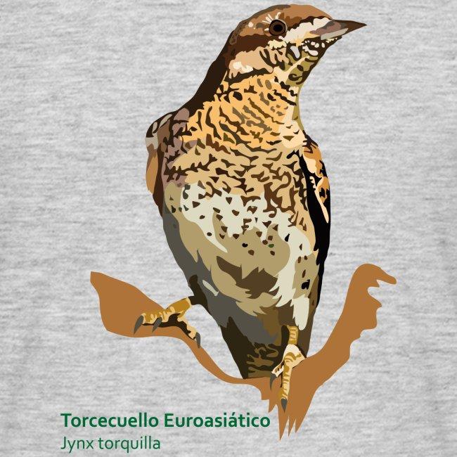 Torcecuello Euroasiático-bird-shirt