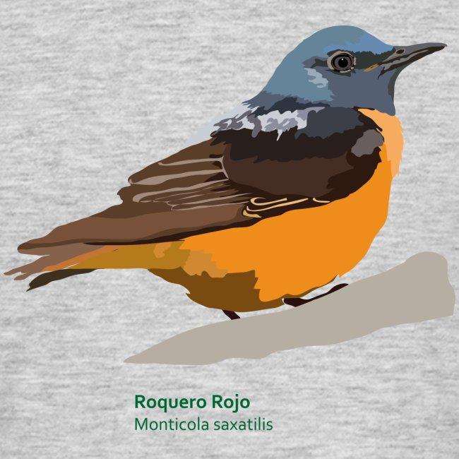 Roquero Rojo-bird-shirt
