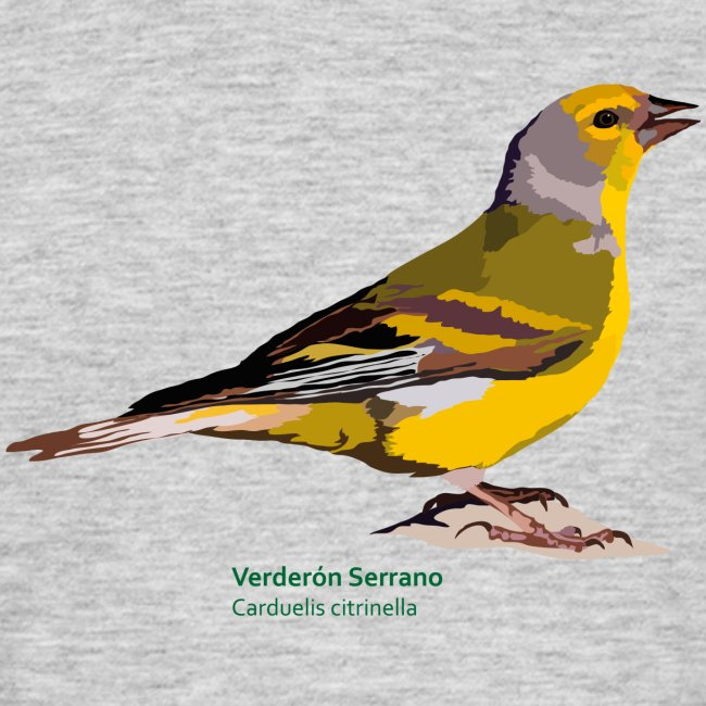 Verderón Serrano-bird-shirt