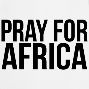 PRAY FOR AFRICA  Aprons - Cooking Apron