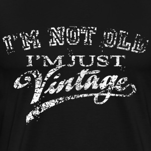 Not Old Vintage - Very Vintage white T-Shirts - Männer Premium T-Shirt