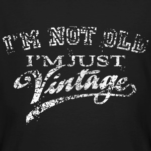 Not Old Vintage - Very Vintage white T-Shirts - Männer Bio-T-Shirt