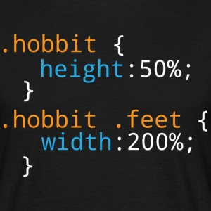 Css Puns - Hobbit - Men's T-Shirt