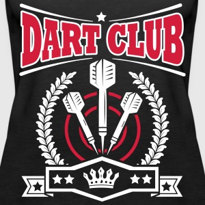 Dart Club Tops - Frauen Premium Tank Top