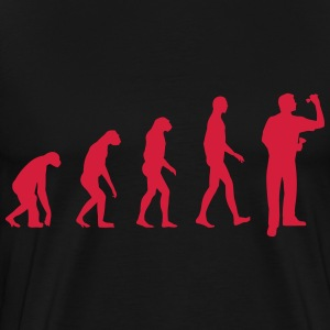 evolution darts T-Shirts - Men's Premium T-Shirt