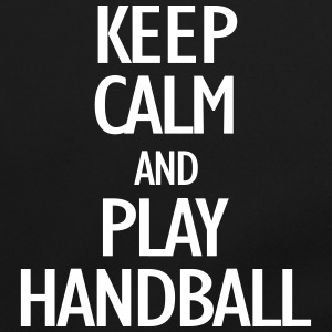 keep calm and play handball Bags & Backpacks - Shoulder Bag