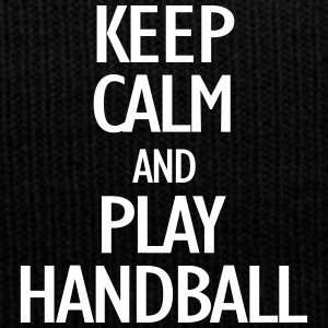 keep calm and play handball Czapki  - Czapka zimowa