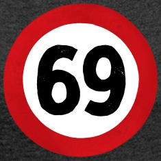 69 Traffic Road sign