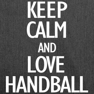 keep calm and love handball Bags & Backpacks - Shoulder Bag made from recycled material