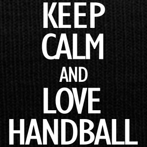 keep calm and love handball Caps & Mützen - Wintermütze