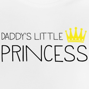 Fars lille prinsesse Baby T-shirts - Baby T-shirt