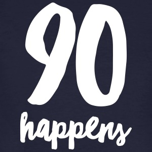 90 Happens T-shirts - Mannen Bio-T-shirt