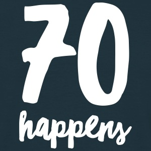 70 Happens Tee shirts - T-shirt Homme