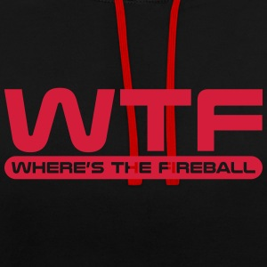 WTF - Where's The Fireball Hoodies & Sweatshirts - Contrast Colour Hoodie