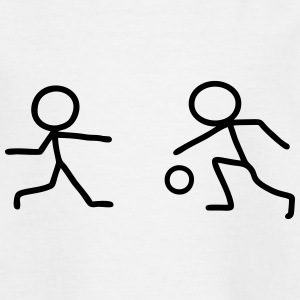 Stick figure with ball Shirts - Kids' T-Shirt
