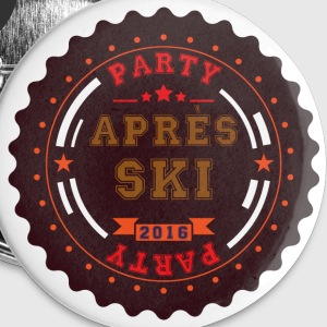 Apres Ski Party Logo Buttons - Buttons small 25 mm