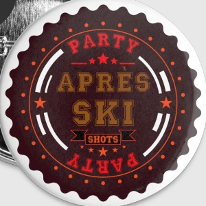 Apres Ski Shots Logo Buttons & Anstecker - Buttons mittel 32 mm